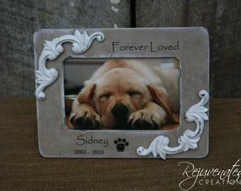 4 x 6 frames pet gift frames pet loss frames personalized frames pet memorials dog frames cat frames personalized gifts photo gift frames
