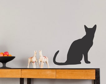 Cat Silhouette ... Vinyl Wall Decal