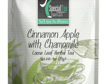 1 oz. Cinnamon Apple with Chamomile Herbal Tea