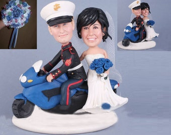 indian motorcycle wedding cake topper groom on motorcycle etsy 16404