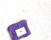 Purple Knitted Tea Cozy, ...