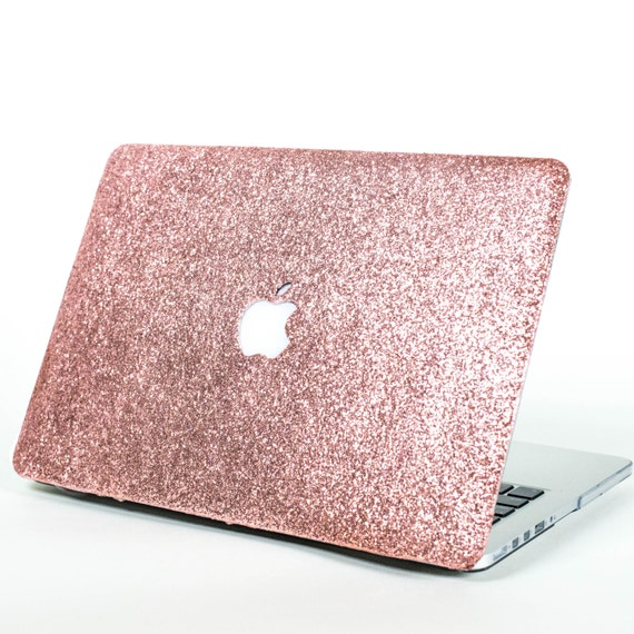 ROSE GOLD- Glitter Macbook Hard Case