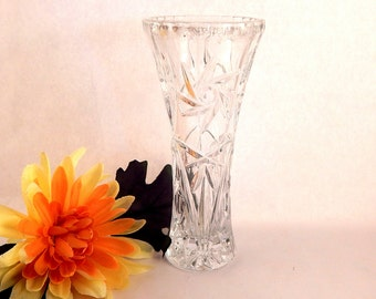 French crystal vase etsy for Arc decoration arques