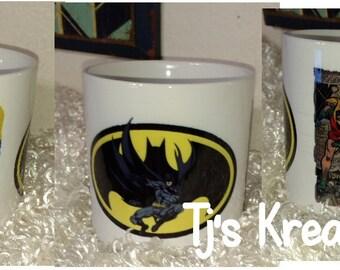 Batman comic inspired  coffee mug