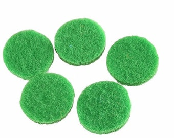 Aromatherapy Diffuser Pads, Perfume Pads, Essential Oil Refill Pads, Aromatherapy Necklace, Felt pads, 22mm Perfume Locket Pads