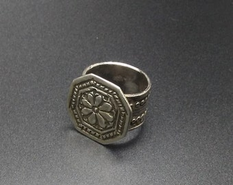 Antique silver Omani ring
