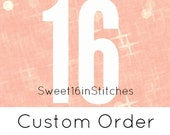 Custom Order // lion // fox // cat tails