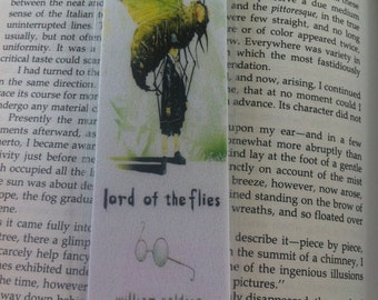 Lord of the Flies Bookmark w/Quote