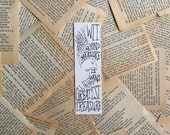 Ravenclaw Motto Harry Potter Bookmark