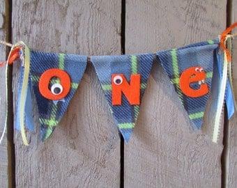 Monster First Birthday Banner, Monster 1st Birthday Bunting, Little Monster Party, Monster Birthday, Monster Banner, Monster Bunting,Monster