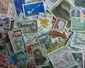 French Stamps - Stamps from France for Collecting, Paper Crafts, Collage, Card Making, Jewelry, Decoupage, etc.