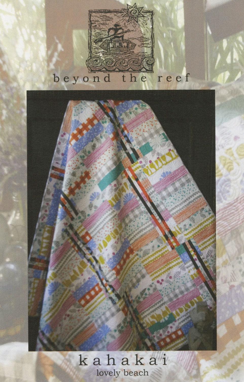 Beyond the Reef Kahakai Jelly Roll Quilt Modern Pattern
