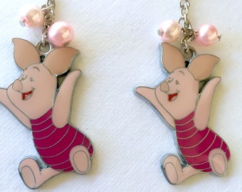 Piglet-inspired Earrings from Winnie the Pooh