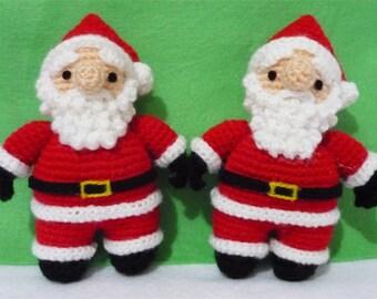 Santa Claus Amigurumi - L Size