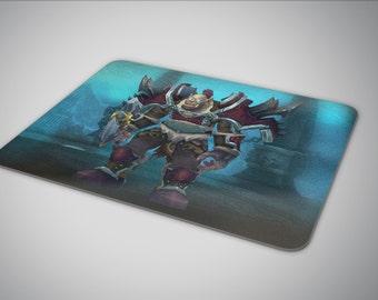 Wow Custom Character mouse pad