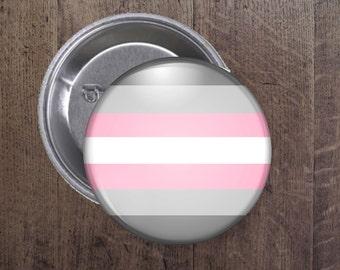 Demigirl button