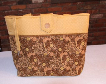 Autumn Quilted Tote Bag