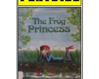 Theater / Show Charm - Playbill Play Bill - The Frog Princess