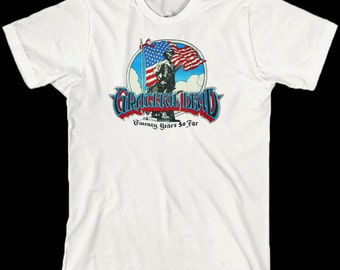 Grateful Dead Shirt ... 20 Years So Far ... Jerry Garcia