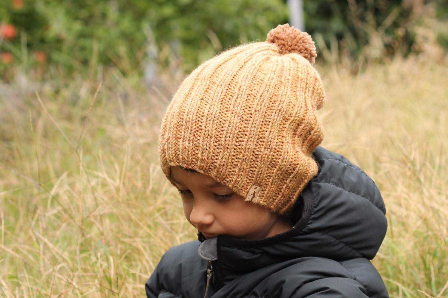 Knitting Pattern Hat Nash Slouchy Beanie Snow by Inventorium