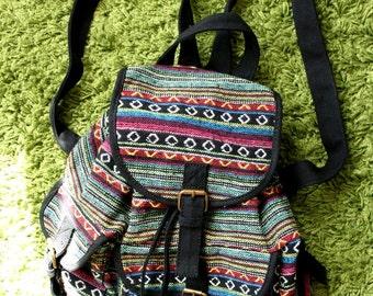 Awesome Tribal Festival Hippie Boho 90s Backpack