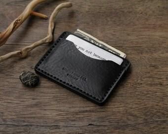 Leather Card Wallet, Card Holder, Leather Wallet, Mens Wallets, Men's Leather Wallet, Groomsmen Gift, Mens Wallet, Gifts for Men