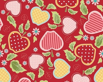 Extra 20% OFF 1/2 yard Apple of My Eye by the Quilted Fish for Riley Blake