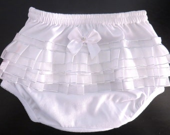 Baby Girl's Ruffle panties diaper cover
