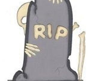 Tombstone Die Cuts
