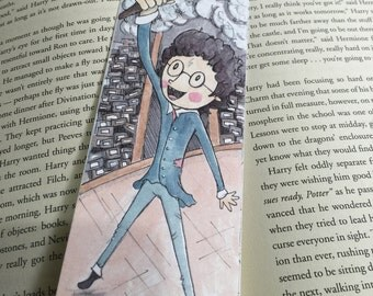 Harry Potter Bookmark, Sorcerers Stone, Harry at Olivanders.