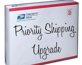 Priority upgraded shipping