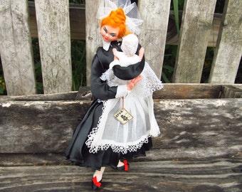 Vintage Layna Doll - Layna Nanny Doll - Baby and Nanny Doll