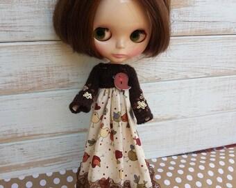 SALE Vintage dress  for Blythe