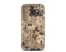 Floral for galaxy s4 case Wood for galaxy s6 case Flower for galaxy s7 case Wood for samsung s5 case wood for samsung case, romantic