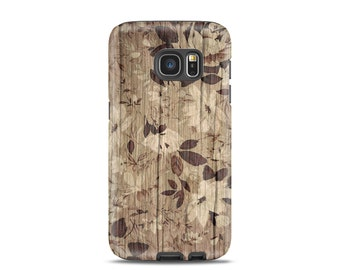 For galaxy s4 case Wood, for galaxy s6 case, for galaxy s7 case, for samsung s5 case, for samsung case, for samsung s3 case - Floral