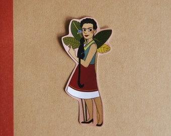 frida kahlo sticker (set of 1)