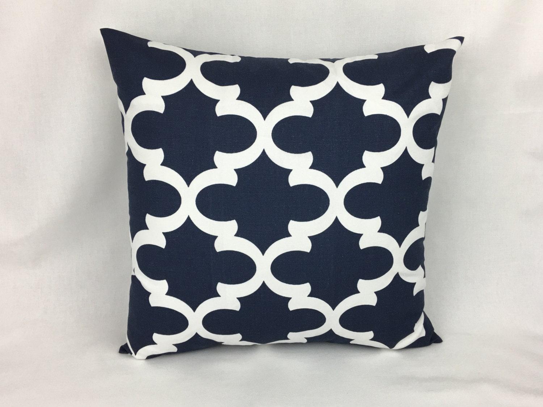 Decorative Throw Pillows Navy Navy Blue Accent Pillow
