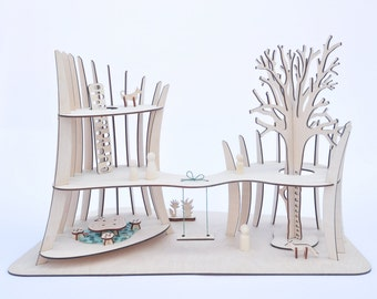 modern dollhouse - treehouse - The Tower