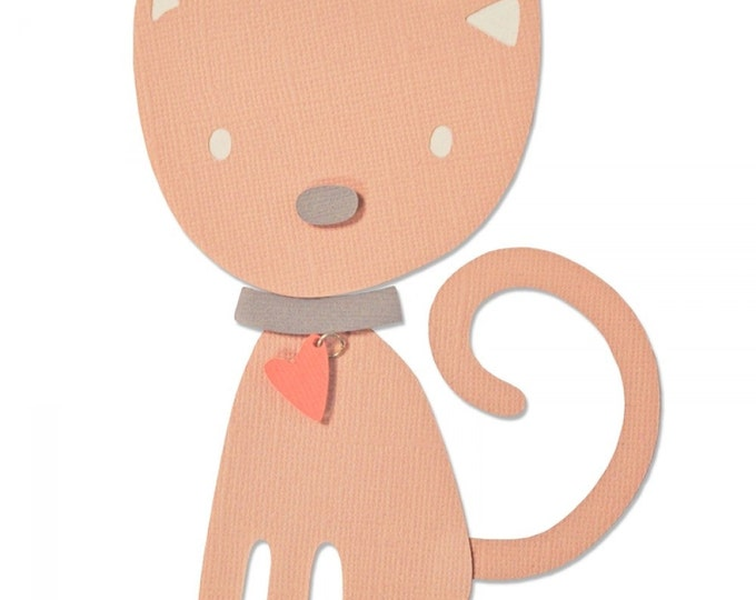 New! Sizzix Bigz Die - Kitten by Debi Potter