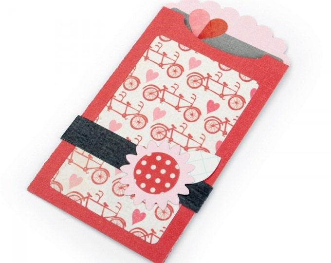 New! Sizzix Bigz XL Die - Gift Card Holder #2 by Echo Park Paper Co.
