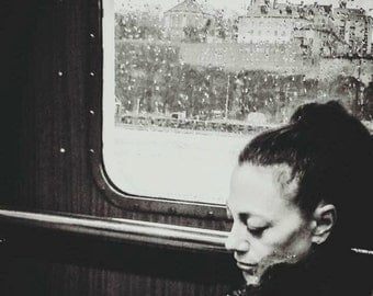 Woman on the ferry - Stockholm