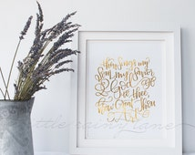 How Great Thou Art - LDS Quotes - LDS Art - Hand lettered art