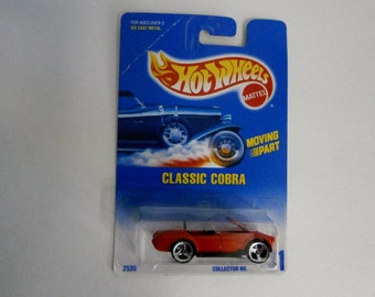 Mattell Hot Wheels Classic Cobra number 31 -1991 Moving Part