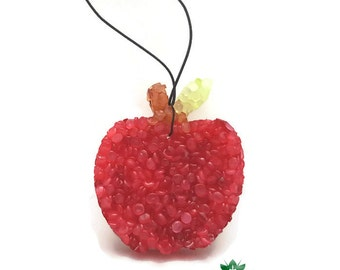 Apple Shaped Aroma Bead Air Freshener in Applejack & Peel Fragrance for Teachers. Teacher Appreciation Day, Teacher Gift