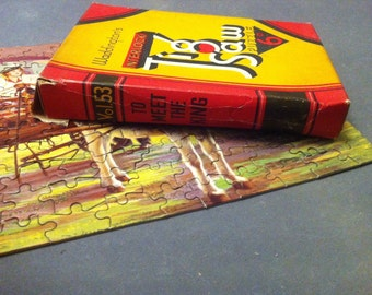 1930s Waddingtons Jigsaw Puzzle - Volume 53: To Meet The King