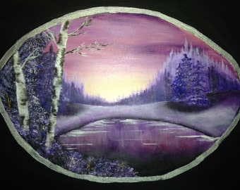 Violet Birch art print