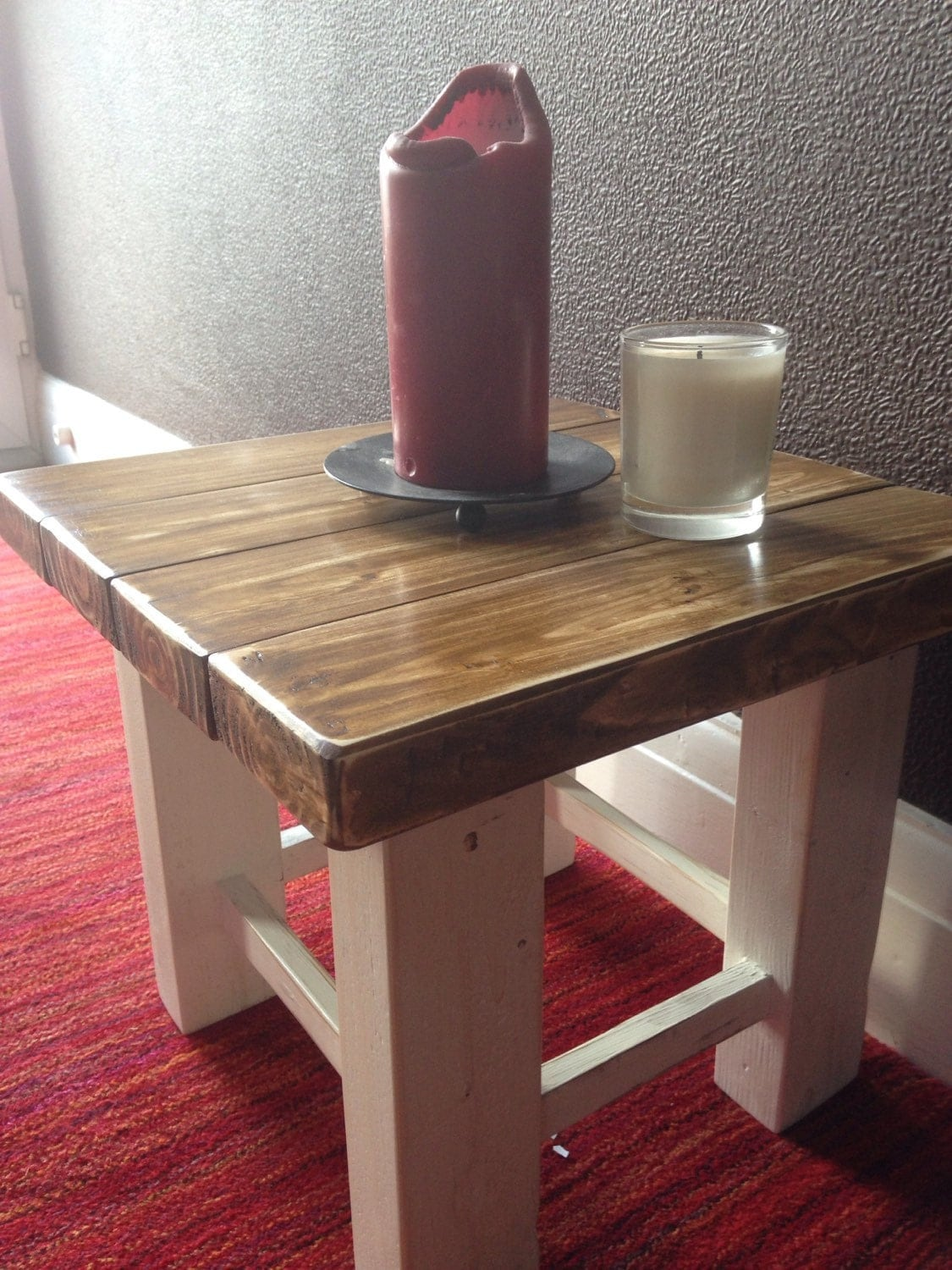 Shaker Style Small Coffee Table In Solid Wood
