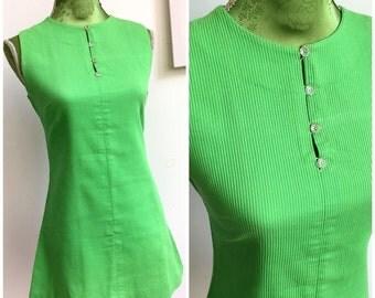 1960s Mod Mini Dress (S/M Fit)