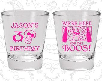 30th Birthday, Pumpkin Birthday, Halloween Birthday, Birthday Glasses (20290)