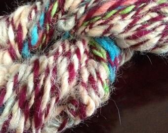 Lumpy Llama - Handspun Alpaca and Corriedale Yarn- Bulky